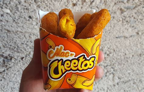 Mac N Cheetos burger king is releasing mac n cheetos and it s already