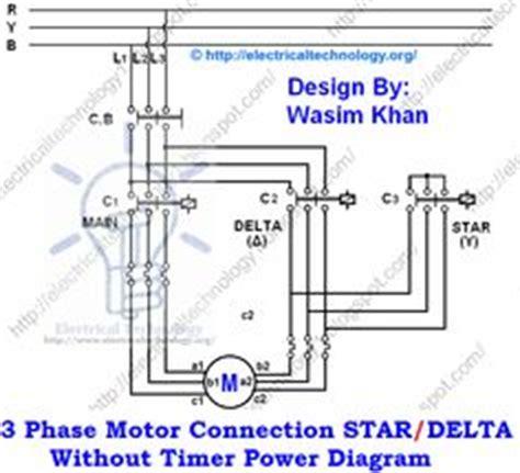 delta starter wiring diagram
