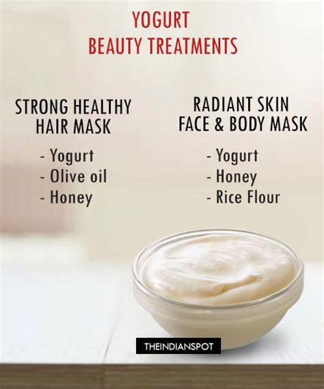Masker Yogurt diy yogurt mask for shiny hair and radiant skin yogurt masking and