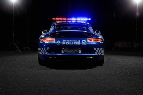 nsw police  porsche  carrera police car forcegtcom