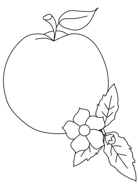 peach tree coloring pages