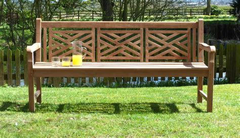 oxford memorial benches oxford cross weave back teak garden bench 180cm