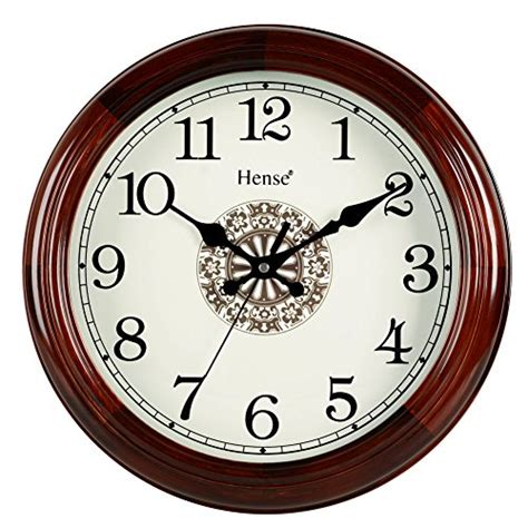 concise style silent wall clock simple home and office decorative hense retro vintage european style living room large