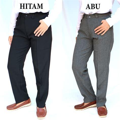 Celana Semi Formal Wanita celana kerja formal bahan kantor wanita bahan semi wol import tebal elevenia
