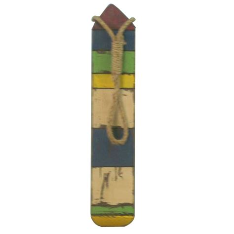 boat buoy colors wooden thin multi color buoy 25 quot