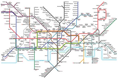 printable version of london tube map tube map evolution 2009 edition review river thames no more