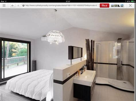 like the open plan ensuite idea for a of bedrooms