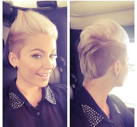 feminine mohawks 34 best short boy haircuts for girls images on pinterest
