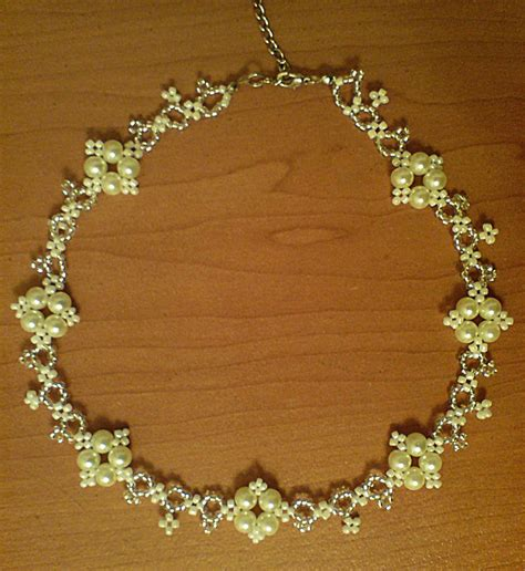 free jewelry tutorials free pattern for necklace ivona magic bloglovin