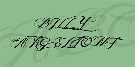 tattoo font billy argel billy argel font font 183 1001 fonts