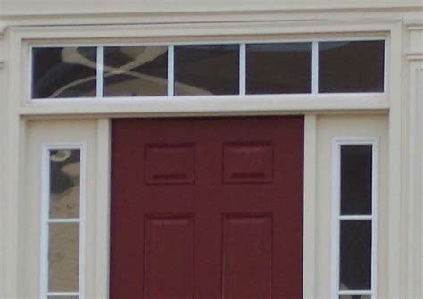 Front Entry Door With Sidelights And Transom Front Doors Creative Ideas Front Door Sidelights