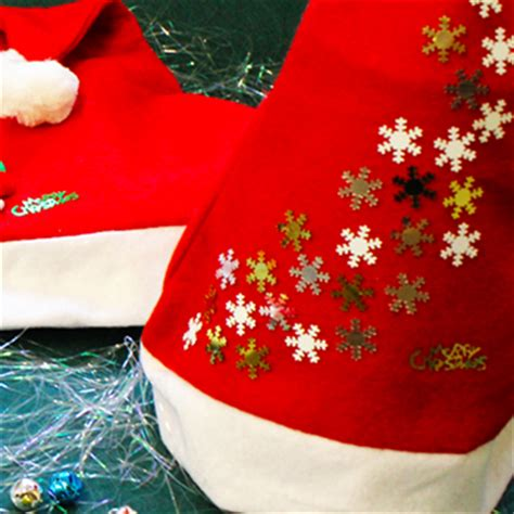 ways to decorate a santa hat santa hats decorate your own bright ideas