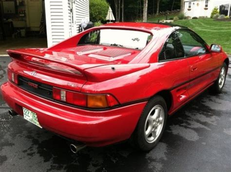 1991 Toyota Mr2 For Sale 34k Mile 1991 Toyota Mr2 Turbo Bring A Trailer