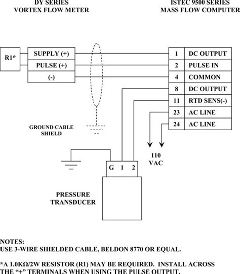 flow meter wiring diagram 25 wiring diagram images