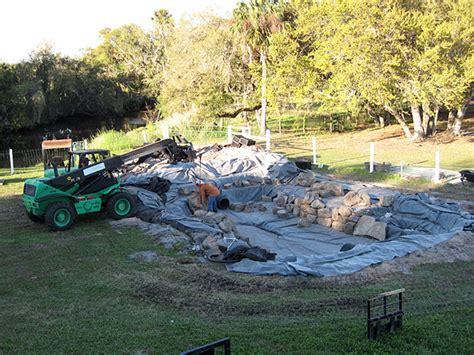 Rocks For Backyard Large Koi Pond With Grey Garden Boulders And Ledge Rock