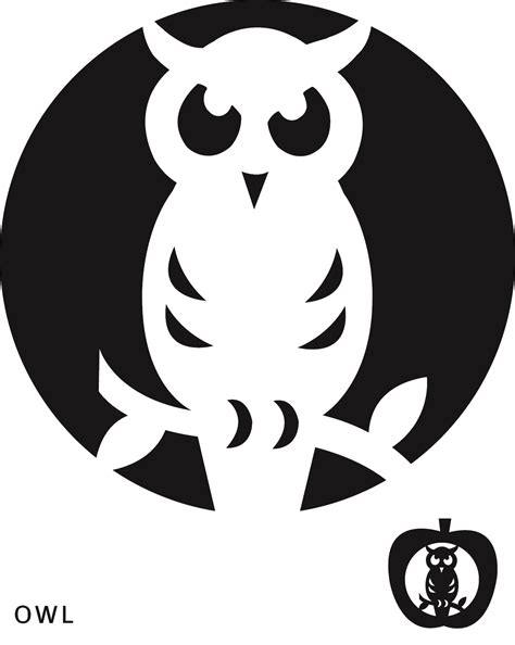 8 Best Images Of Scary Owl Pumpkin Carving Patterns Printables Free Owl Pumpkin Carving Pumpkin Carving Templates