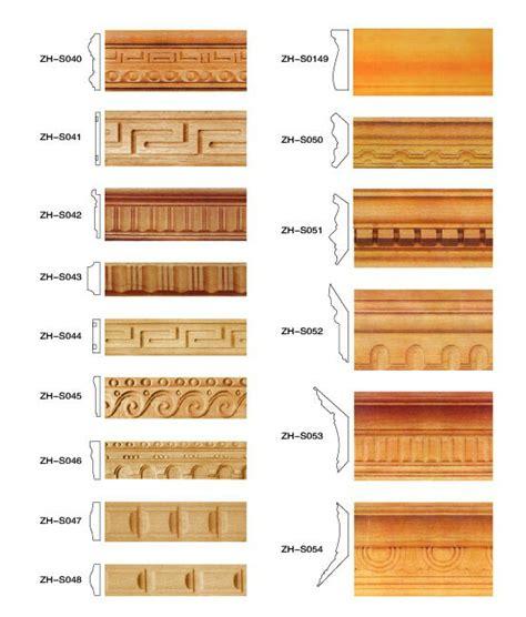 chokhat design hand carved wood moulding decorative wooden molding