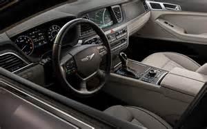 Hyundai Genesis Sedan Interior 2015 Hyundai Genesis Sedan And Coupe Carspoints