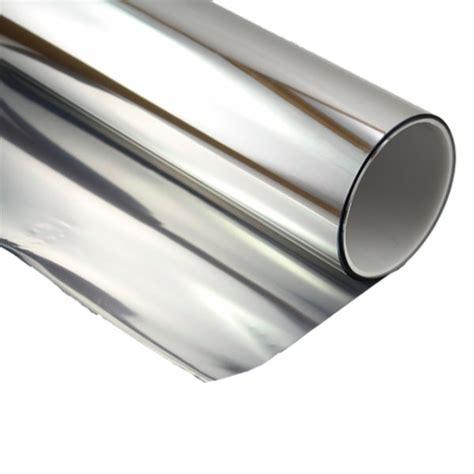 silver reflective mirror tint