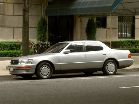 lexus ls400 2001 the history of lexus