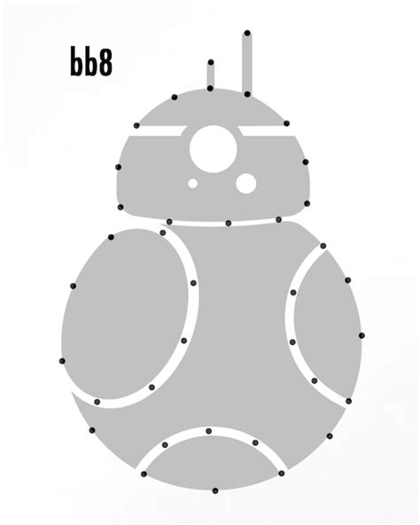 Bb8 Drawing Outline by Wars String One Project Closer