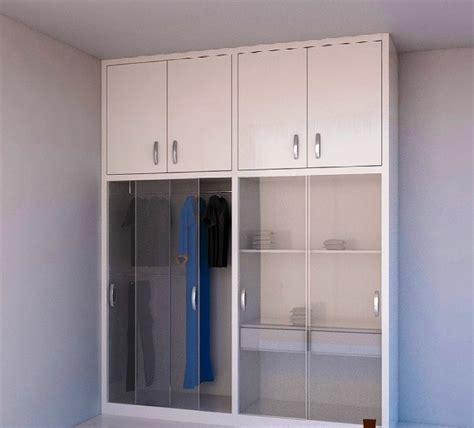 Lemari Pakaian Gantung Aluminium 17 model lemari pakaian minimalis terbaik 2018 desain