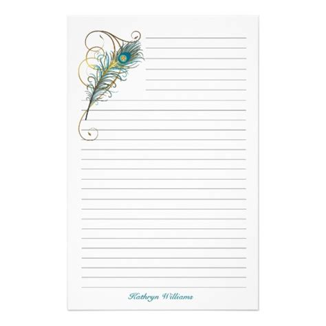 printable lined thank you paper 5 best images of elegant stationery paper printable free