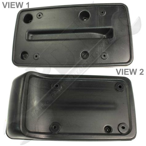 jeep license plate bracket jeep tj license plate bracket image mag
