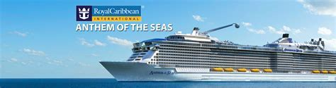 Royal Caribbean's Anthem of the Seas Cruise Ship, 2017 and