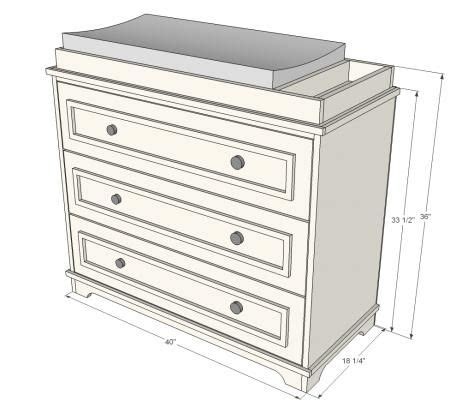 fillman dresser  changing table baby changing tables