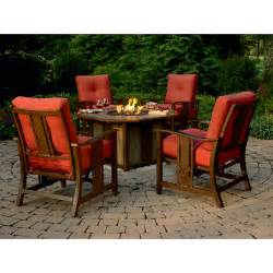 Chat Set Patio Furniture by Best Patio Furniture 2014 Review Agio Wessington 5 Pc