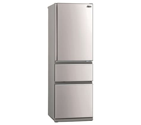 mitsubishi electric refrigerator mitsubishi electric 402l connoisseur two drawer