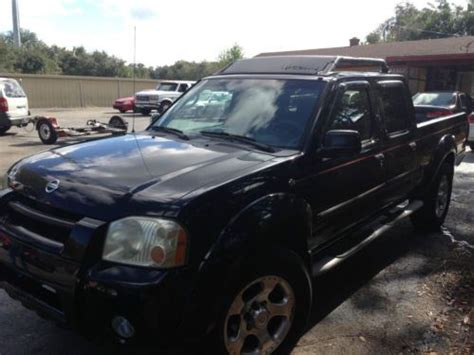 2002 nissan frontier 4x4 for sale purchase used 2002 nissan frontier 4x4 crew cab in land o