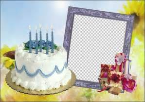 Birthday frames for photoshop happy birthday picture frame