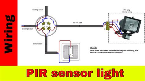 wiring diagram for motion sensor pir motion sensor wiring diagram agnitum me