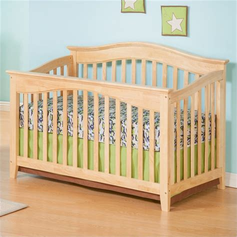 Maple Baby Crib by Runtime Error