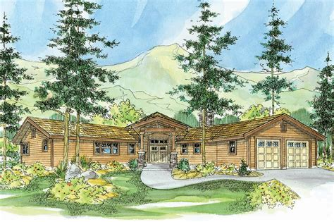 cabin style home plans lodge style house plans viewcrest 10 536 associated designs