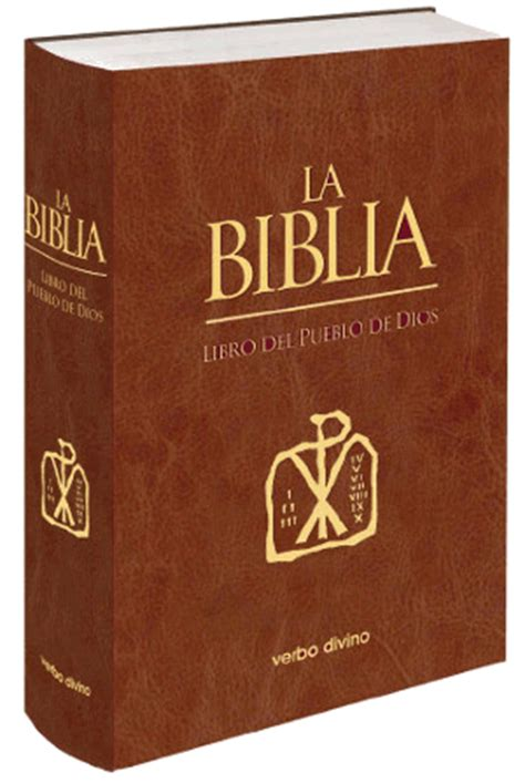 libro una biblia the editorial verbo divino la biblia libro del pueblo de dios