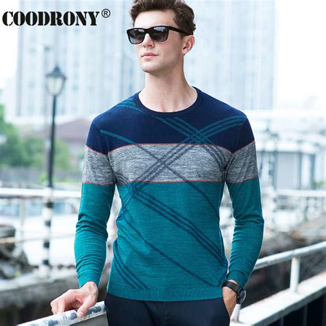 Sweater Bastille High Quality high quality 100 real merino wool sweater autumn winter knitted sweaters fashion