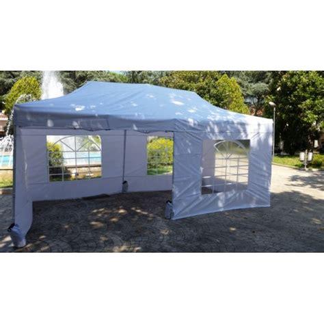 gazebo pieghevole 6x3 gazebo tenda pieghevole 6x3 bianco pvc optional