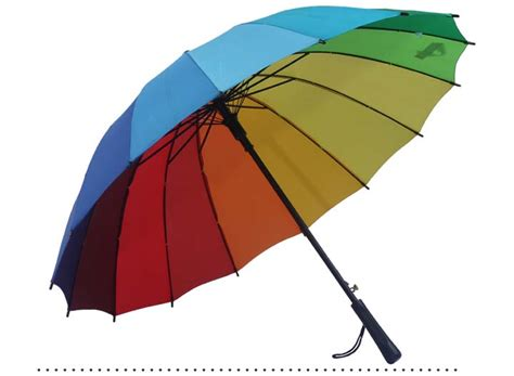 alibaba umbrella alibaba china large promotional high quality rainbow 16