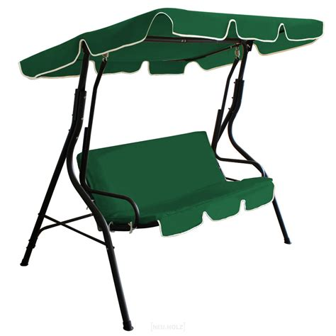 swing bench seat swing bench garden seat cream gray green new ebay