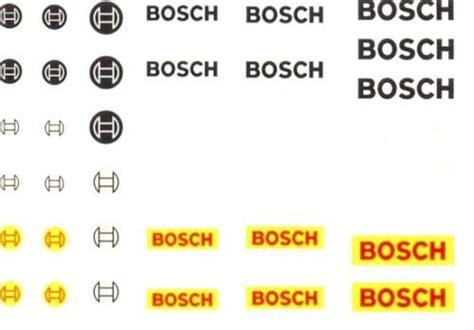 Bosch Racing Team Aufkleber hobby slot decal bosch slotcars und slotcar zubeh 246 r