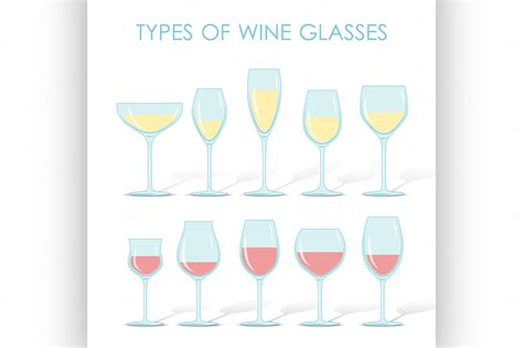 barware glasses types different kinds of glasses of wine pictures to pin on