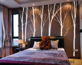 Tree Wall Stickers For Bedrooms Wall Decal Bedroom Wall Decal Children Wall Decal Trees Wall Sticker