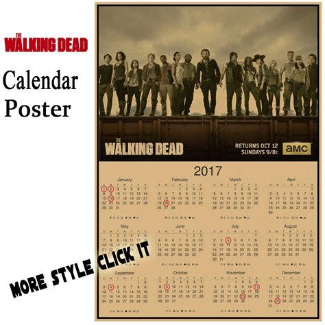 Calendrier Walking Dead Antique Affiches Achetez Des Lots 224 Petit Prix Antique