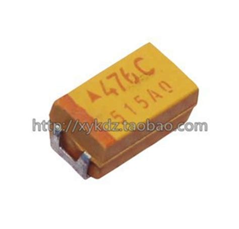 smd capacitor size b free shipping 50pcs 16v 47uf c size 476c chip smd tantalum capacitor in other electronic