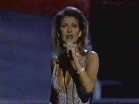 Dion To Unveil New Song At Oscars by Dion Because You Loved Me Live From Oscar 1997