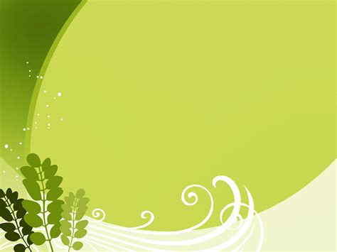 templates ppt green leaf green free ppt backgrounds for your powerpoint