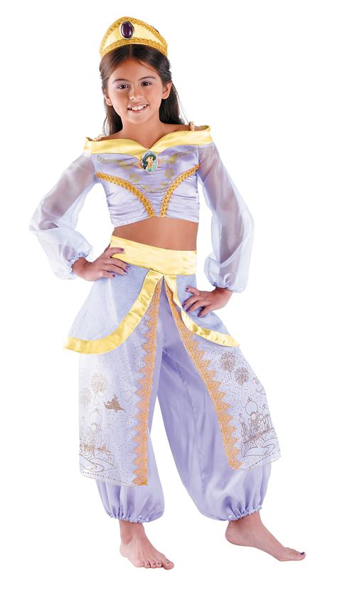 child link prestige costume disney aladdin storybook jasmine prestige toddler child